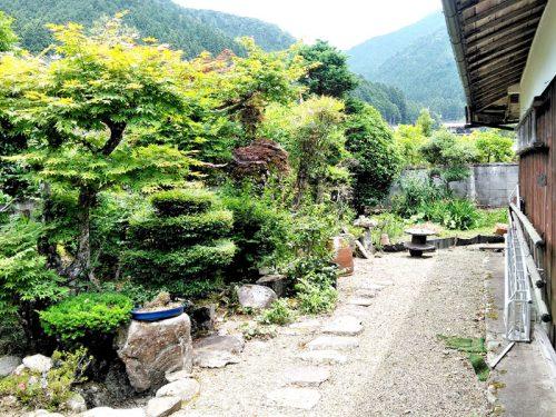 ▲北側お庭