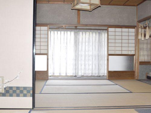 ▲床の間和室