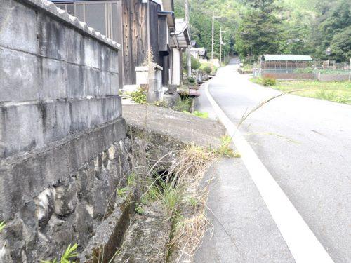▲敷地と道路の境界