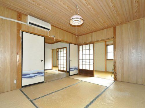 2階 続き間の和室