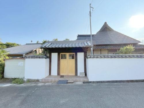 兵庫県佐用町 昔の形を残しながら補強・補修された武家屋敷でお店をしませんか☆
